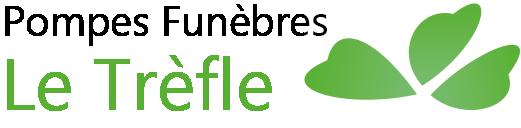 Logo Pompes Funebres Le Trefle